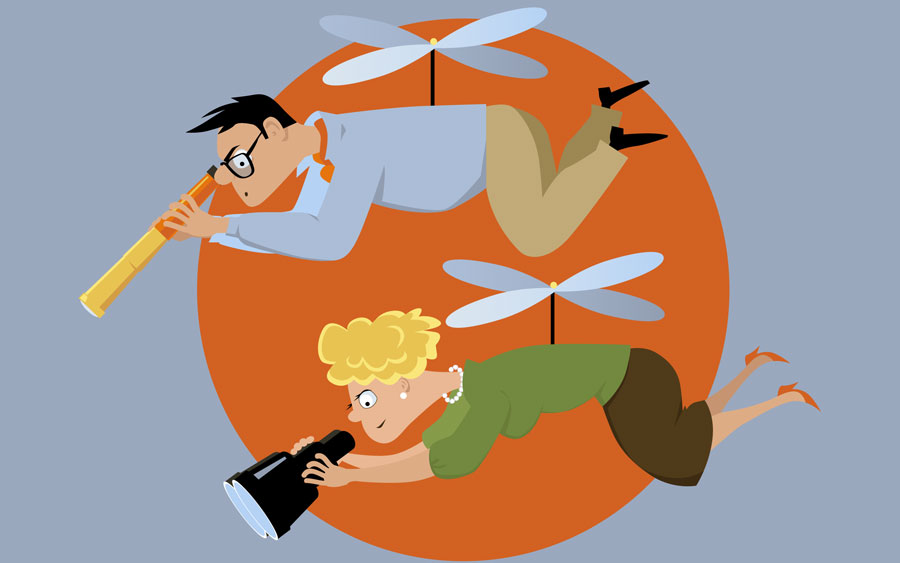 Author Helicopter Parenting Damages >> In Defence Of Today S Helicopter Parents Maggie Dent